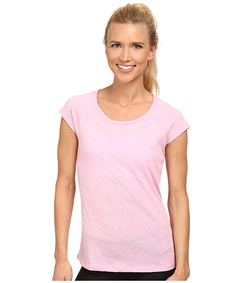 Jockey Active - Speck Jersey Top (Satellite Pink) Women
