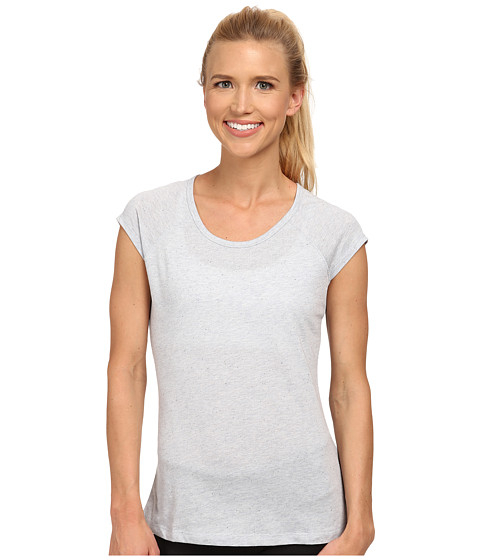 Jockey Active - Speck Jersey Top (Iron Grey) Women's Short Sleeve Pullover