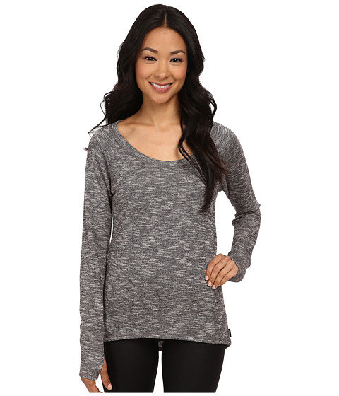 Jockey Active - Gravity Hi-Lo Sweatshirt (Charcoal Heather) Women