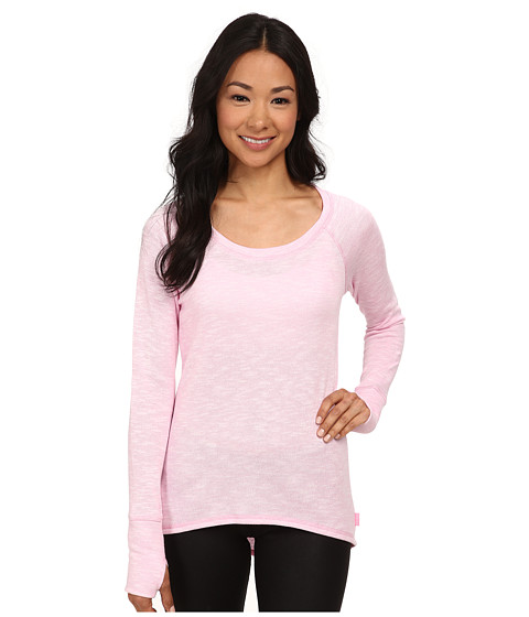 Jockey Active - Gravity Hi-Lo Sweatshirt (Satellite Pink) Women