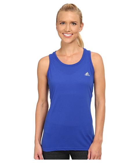 adidas - Ultimate Tank (Bold Blue/Matte Silver) Women