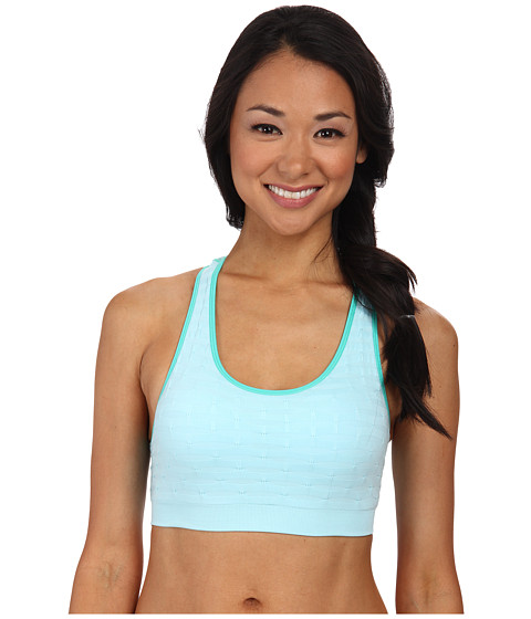 Jockey Active - Novelty Ruched Bra (Ozone Blue) Women's Bra