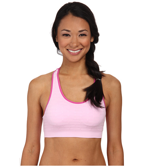 Jockey Active - Novelty Ruched Bra (Satellite Pink) Women's Bra