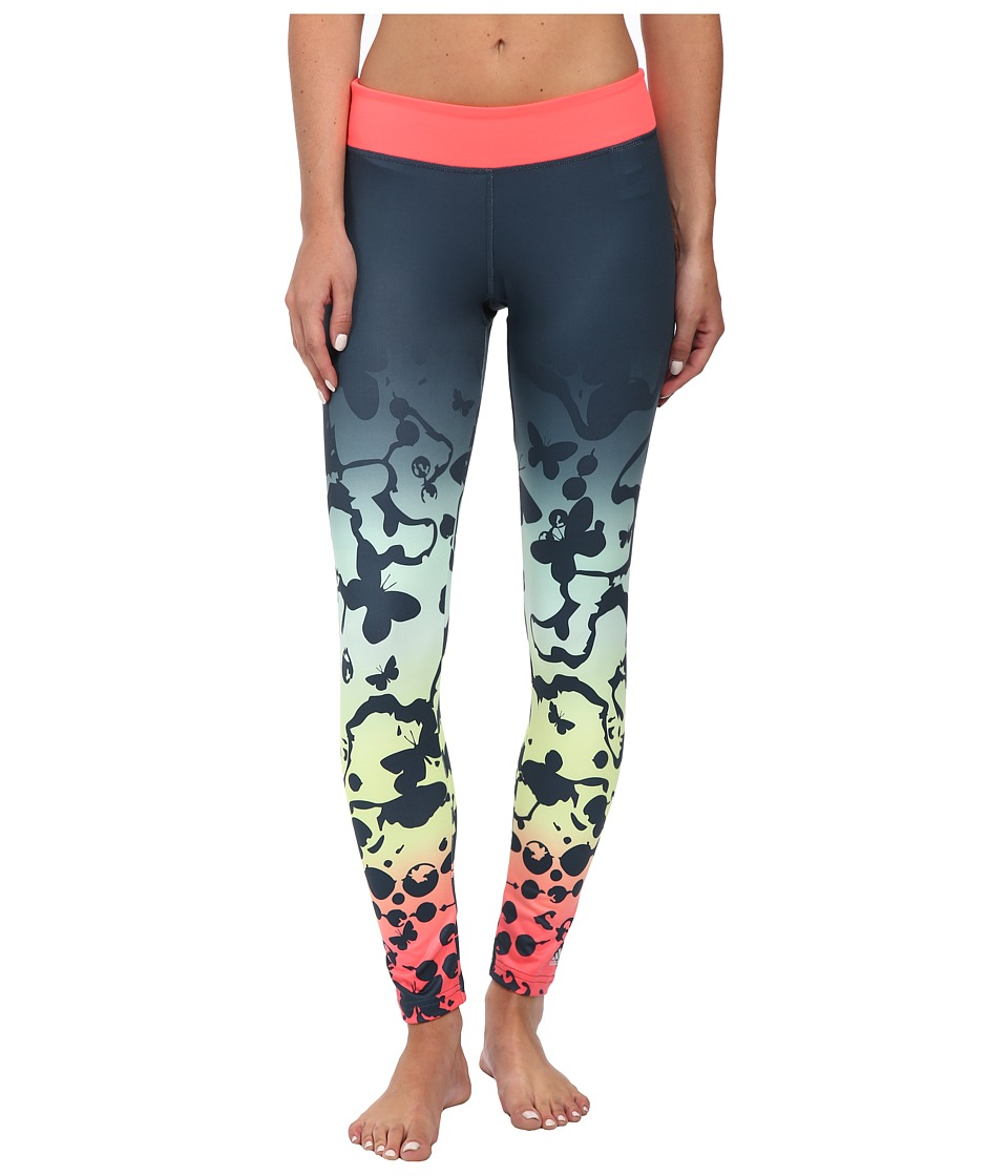 adidas - Ultimate Tights - Firefly (Midnight/Multicolor Print) Women's Workout