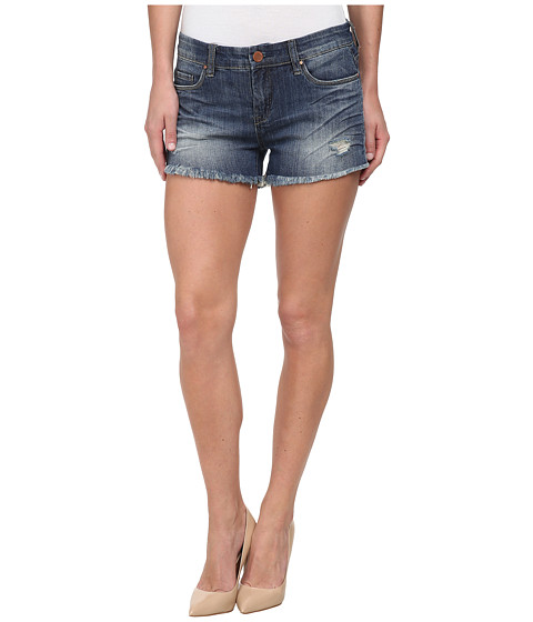 Blank NYC - Denim Cut Off Distressed Short in Stage 5 Clinger (Stage 5 Clinger) Women