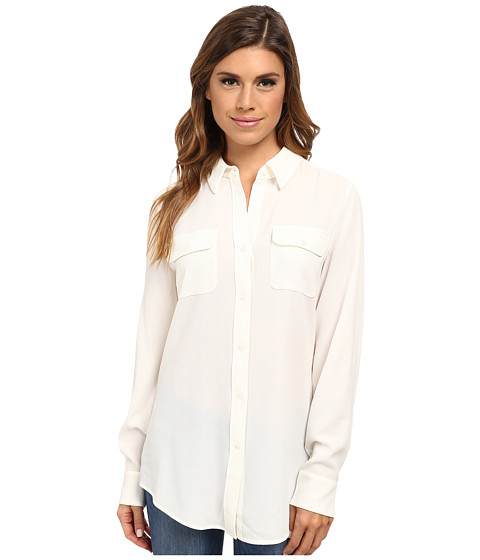 Pendleton - Double Pocket Blouse (Ivory) Women
