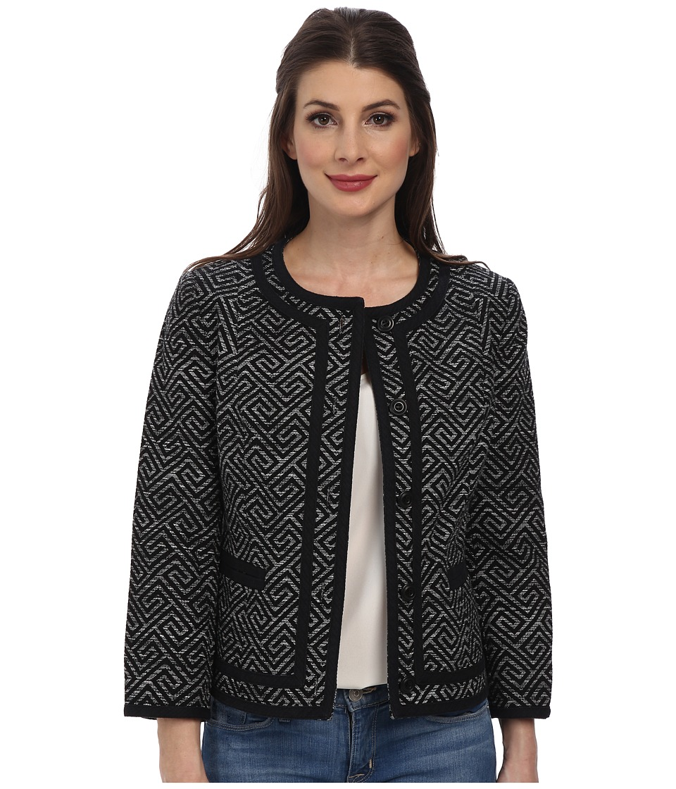 Pendleton - Amanda Print Jacket (Black Key Print) Women's Jacket
