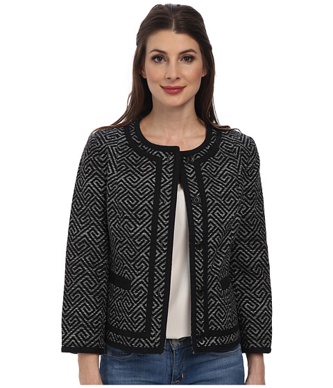 Pendleton - Amanda Print Jacket (Black Key Print) Women