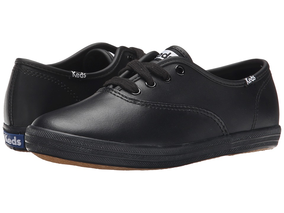 Keds Kids - Original Champion CVO (Little Kid/Big Kid) (Black) Girls Shoes
