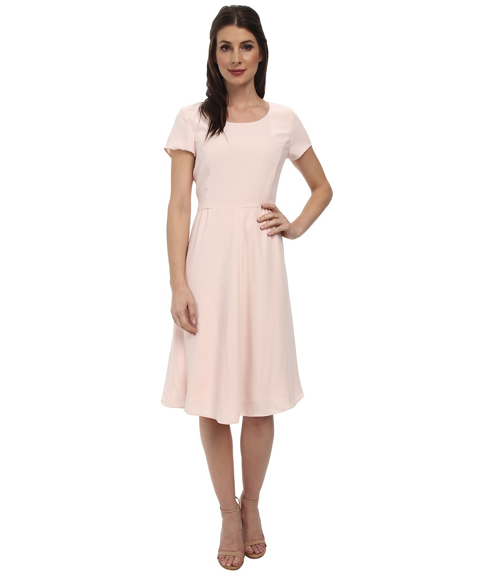 Pendleton - Kristen Dress (Pearl Blush Travel Tricotine) Women