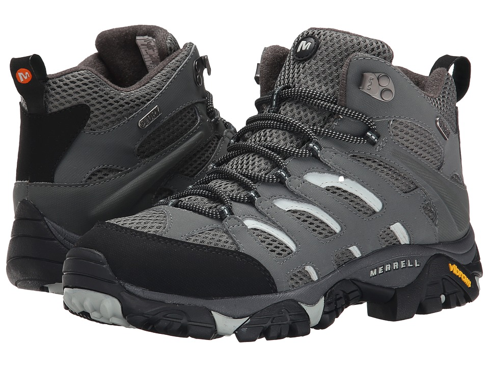 Merrell - Moab Mid Waterproof (Sedona Sage) Men's Hiking Boots