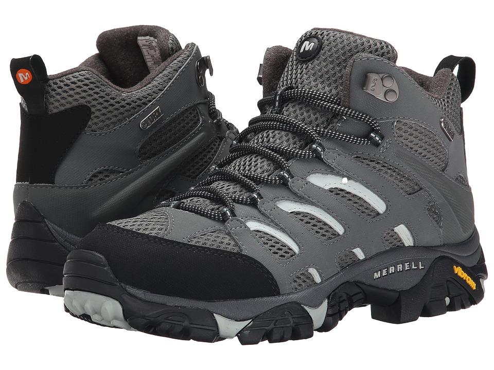 Merrell - Moab Mid Waterproof (Sedona Sage) Men's Hiking Boots