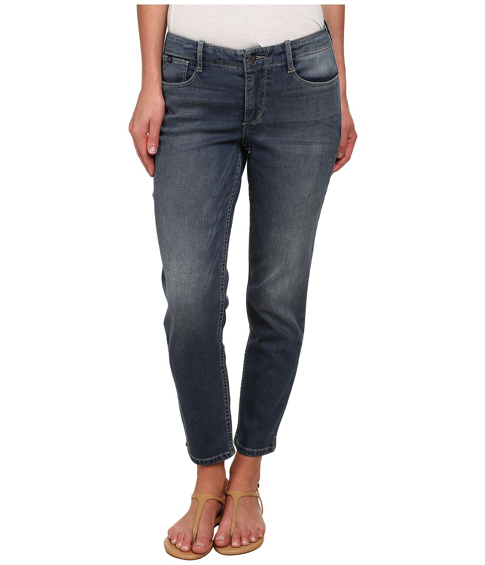 Christopher Blue - Elise Crop in Indigo (Indigo) Women's Casual Pants