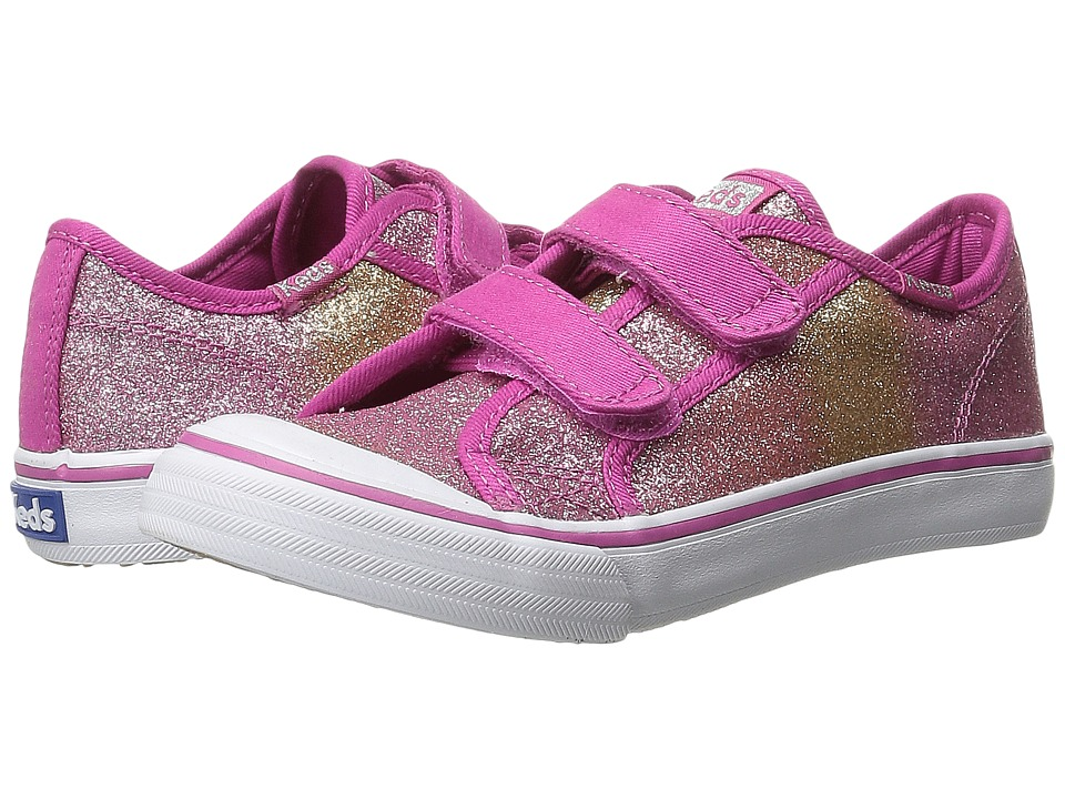 Keds Kids - Glittery HL (Toddler/Little Kid) (Pink Glitter Fade) Girls Shoes