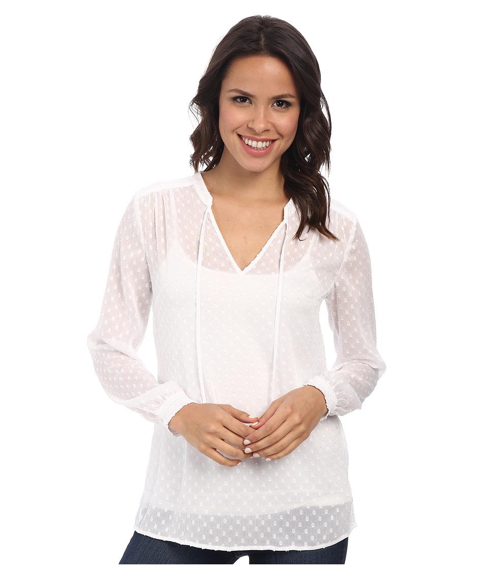 Pendleton - Terra Tunic (White) Women's Blouse