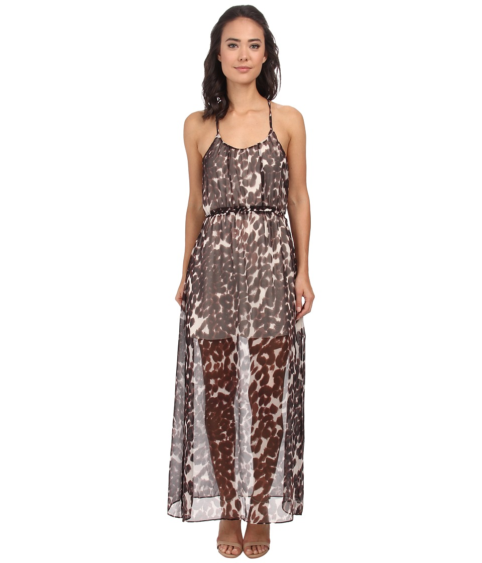 Chaser Animal Print Maxi Dress (Animal) Women