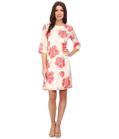 Pendleton - Amy Print Dress (Peony Print) Women's Dress