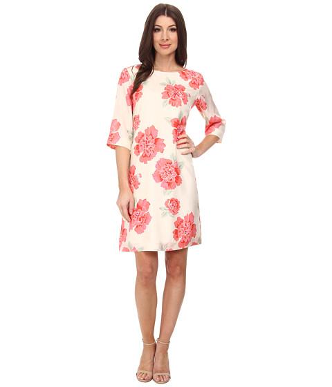 Pendleton - Amy Print Dress (Peony Print) Women