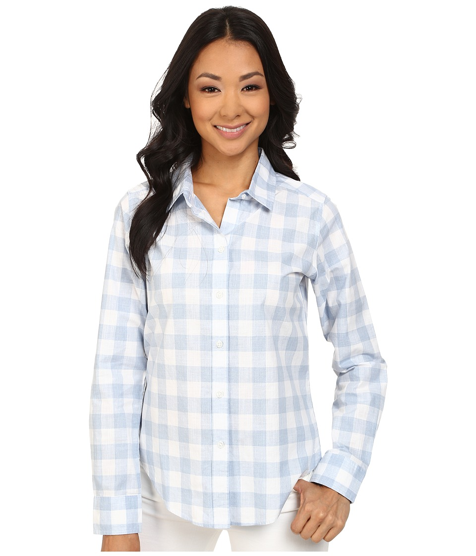 Pendleton - Classic Shirt (Kentucky Blue/White Check Shirting) Women