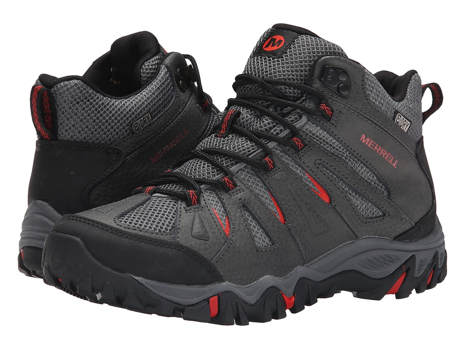 Merrell - Mojave Mid Waterproof (Molten Lava) Men's Hiking Boots