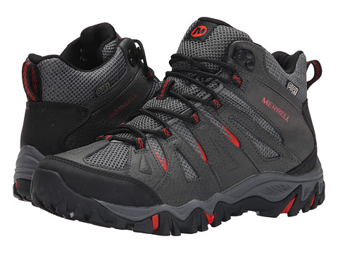 Merrell - Mojave Mid Waterproof (Molten Lava) Men's Hiking Boots