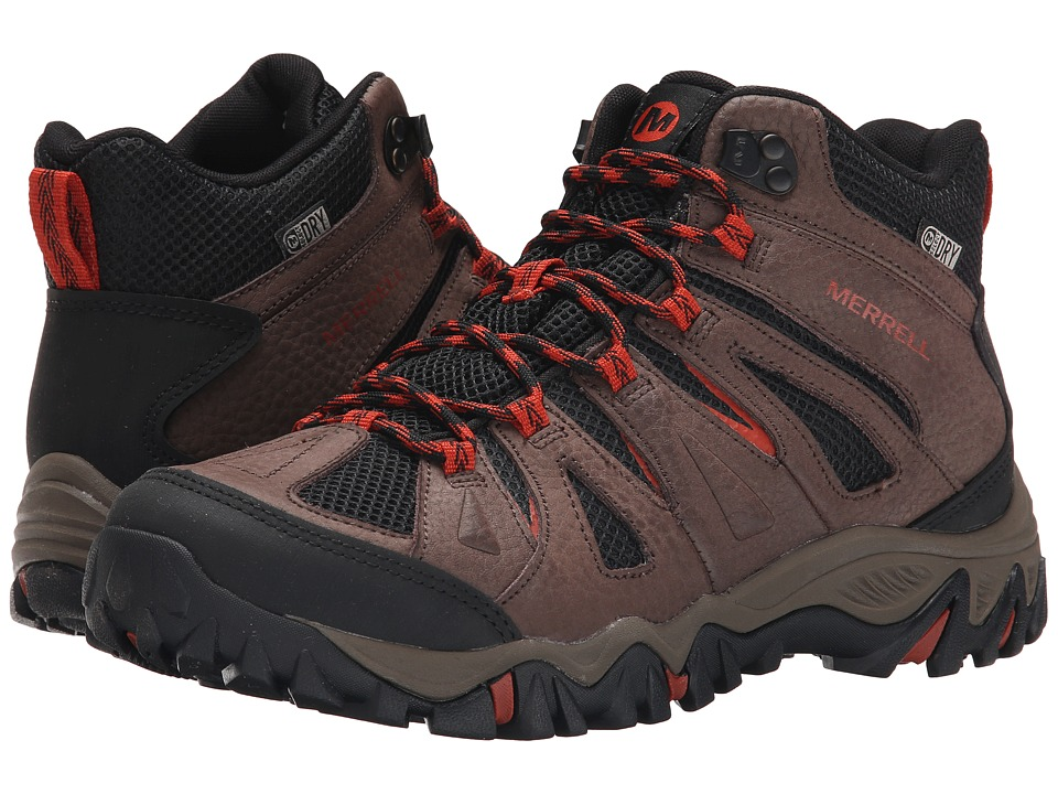 Merrell - Mojave Mid Waterproof (Bracken) Men's Hiking Boots