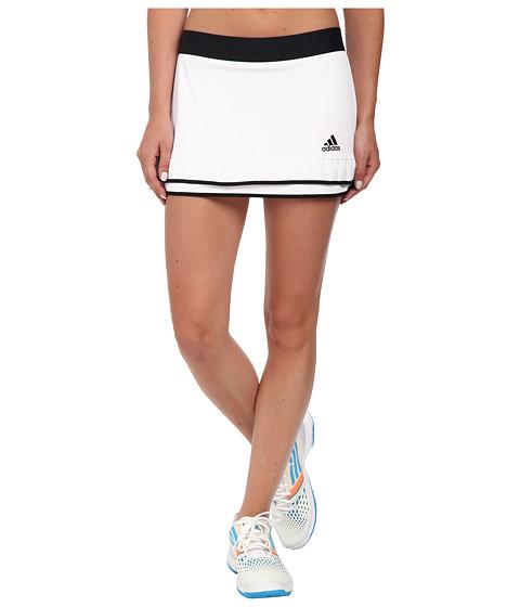 adidas - CLIMACHILL Skort (White/Black) Women