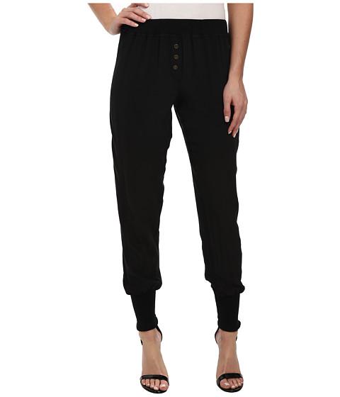 Chaser - Silk Long John Pants (Black) Women