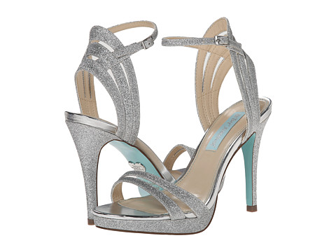 Blue by Betsey Johnson - Ella (Silver Glitter) High Heels