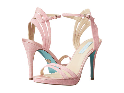 Blue by Betsey Johnson - Ella (Pink Glitter) High Heels