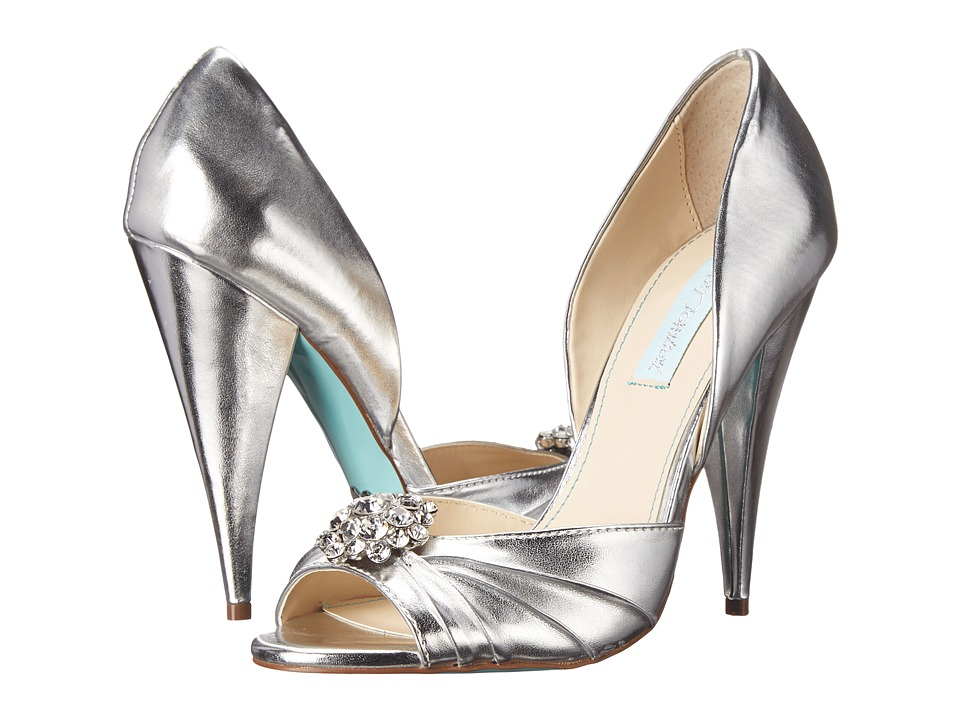 Blue by Betsey Johnson - Gia (Silver) High Heels