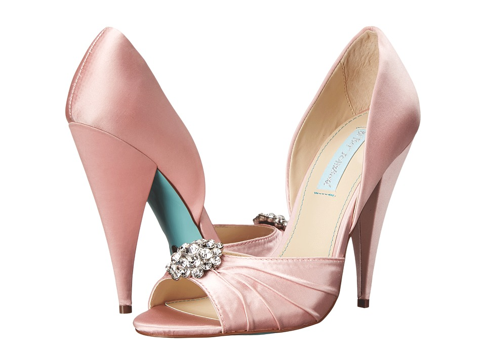 Blue by Betsey Johnson - Gia (Pink Satin) High Heels