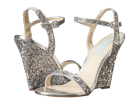 Blue by Betsey Johnson - Darci (Silver Glitter) Women