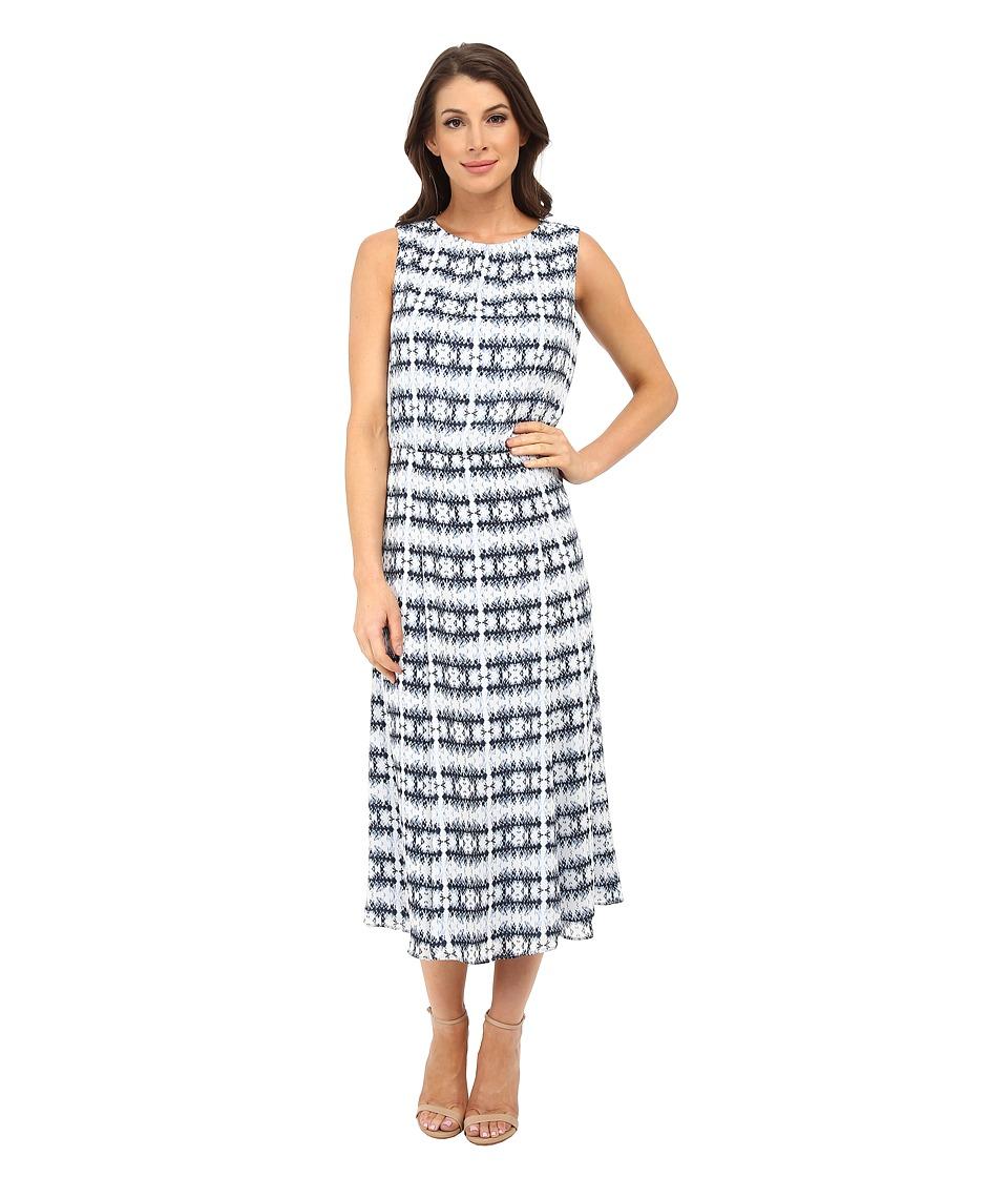 Pendleton - Boardwalk Print Dress (Indigo Batik Print) Women's Dress