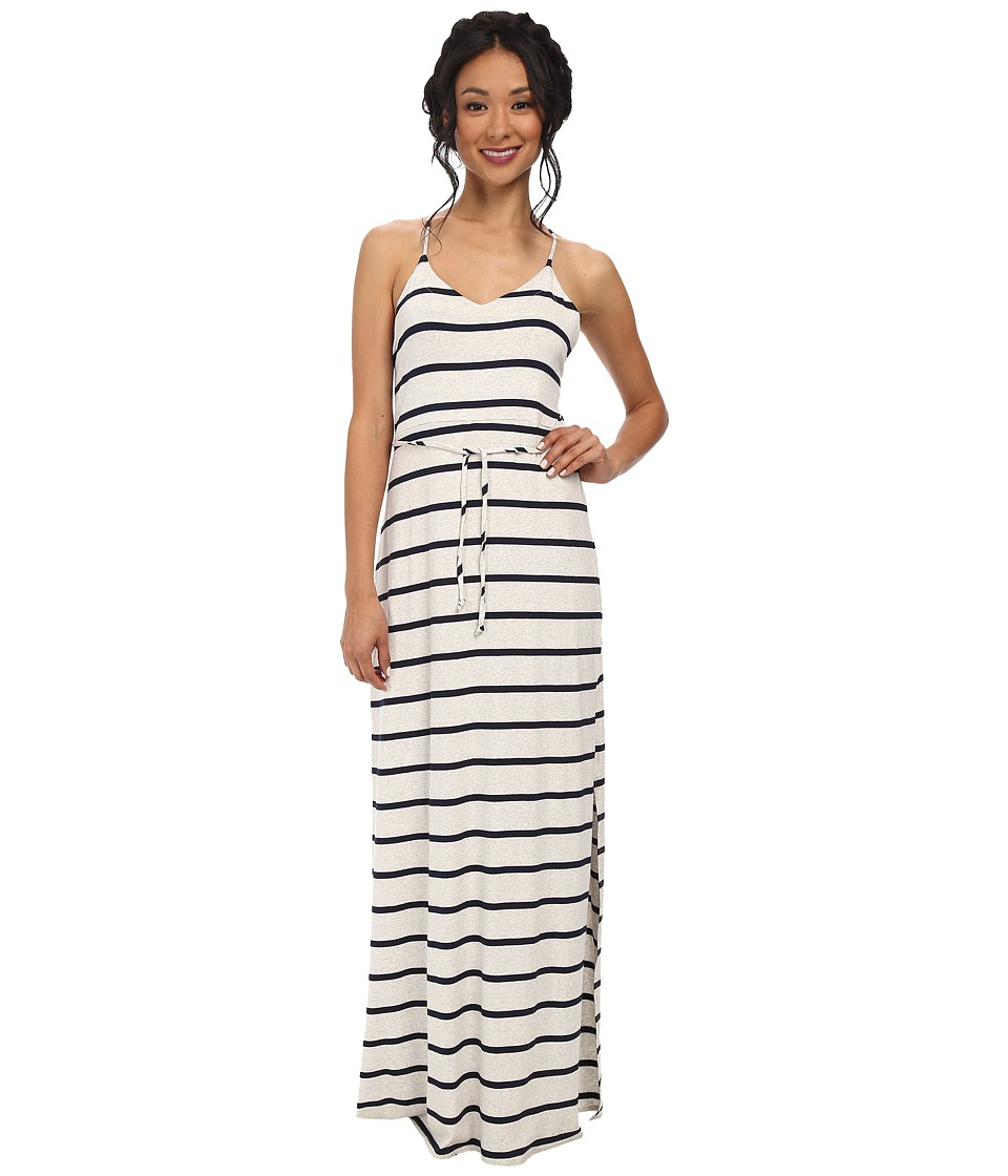 Chaser - Cross Back Maxi Dress (Stripe) Women's Dress