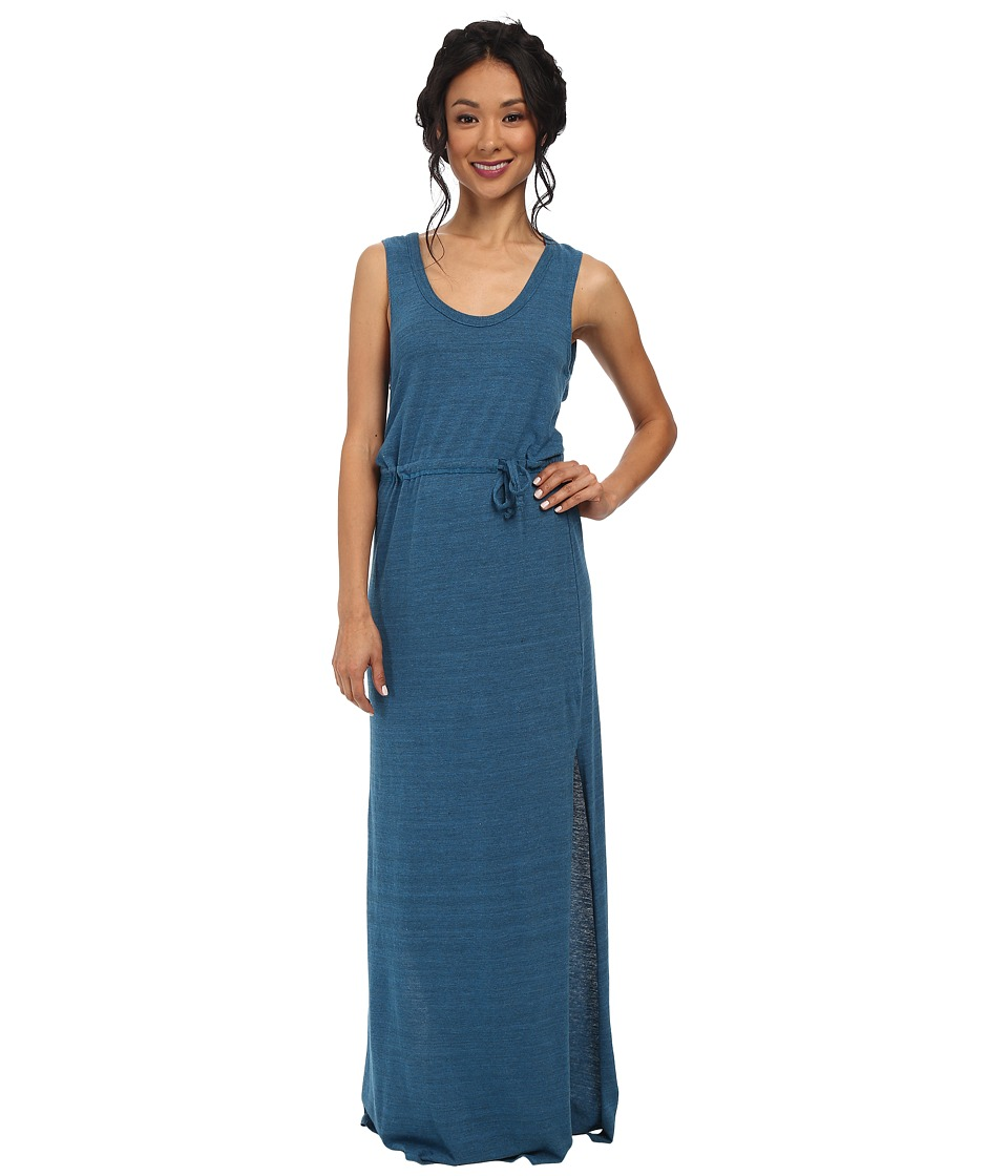 Chaser Knot Back Maxi Dress (Aqua) Women