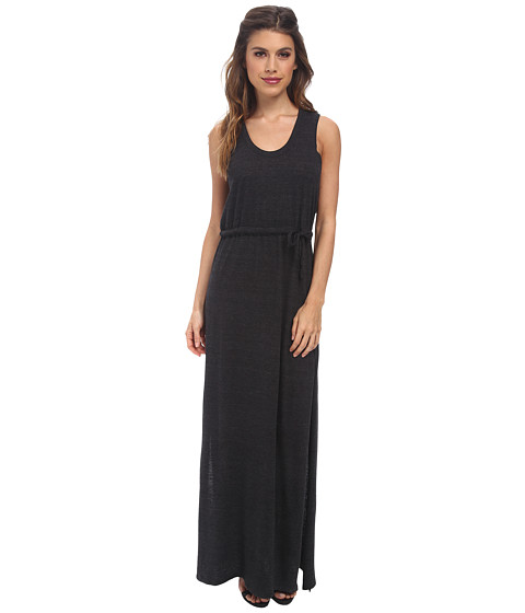 Chaser - Knot Back Maxi Dress (Black) Women