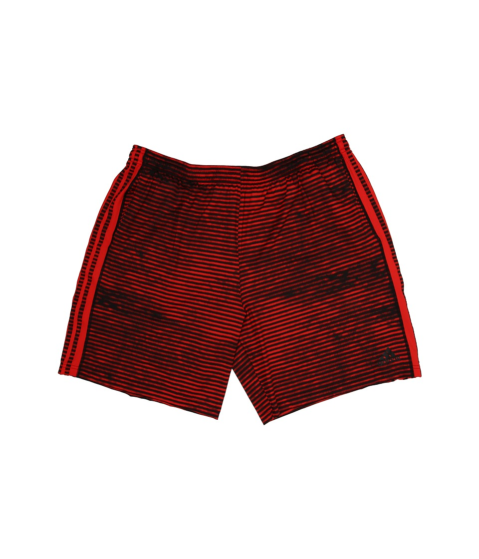 adidas - Team Issue Base 3S Illuminated Shorts (Vivid Red/Black) Men's Workout