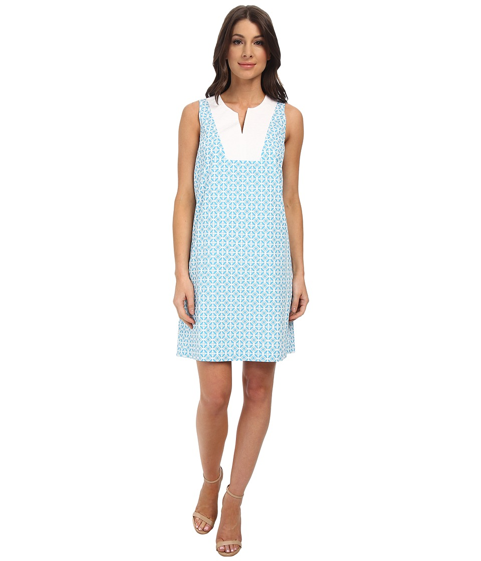 Pendleton - Vista Dress (Carolina Blue Geo Print) Women's Dress