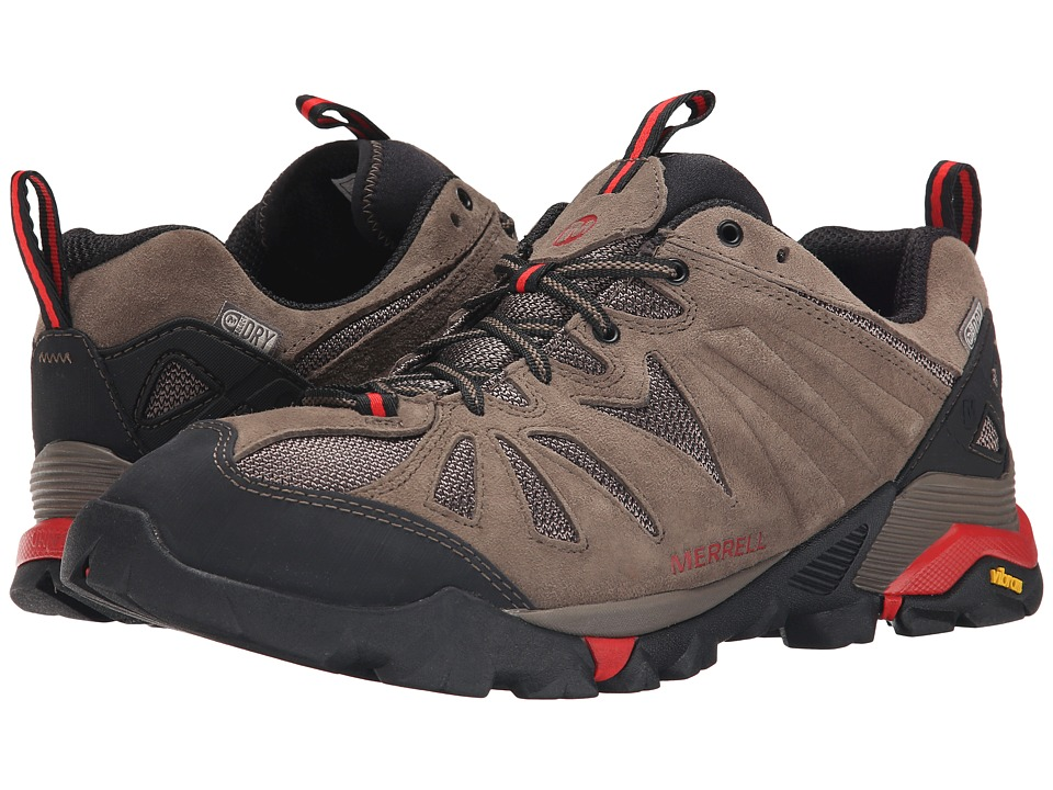 Merrell - Capra Waterproof (Boulder) Men's Climbing Shoes