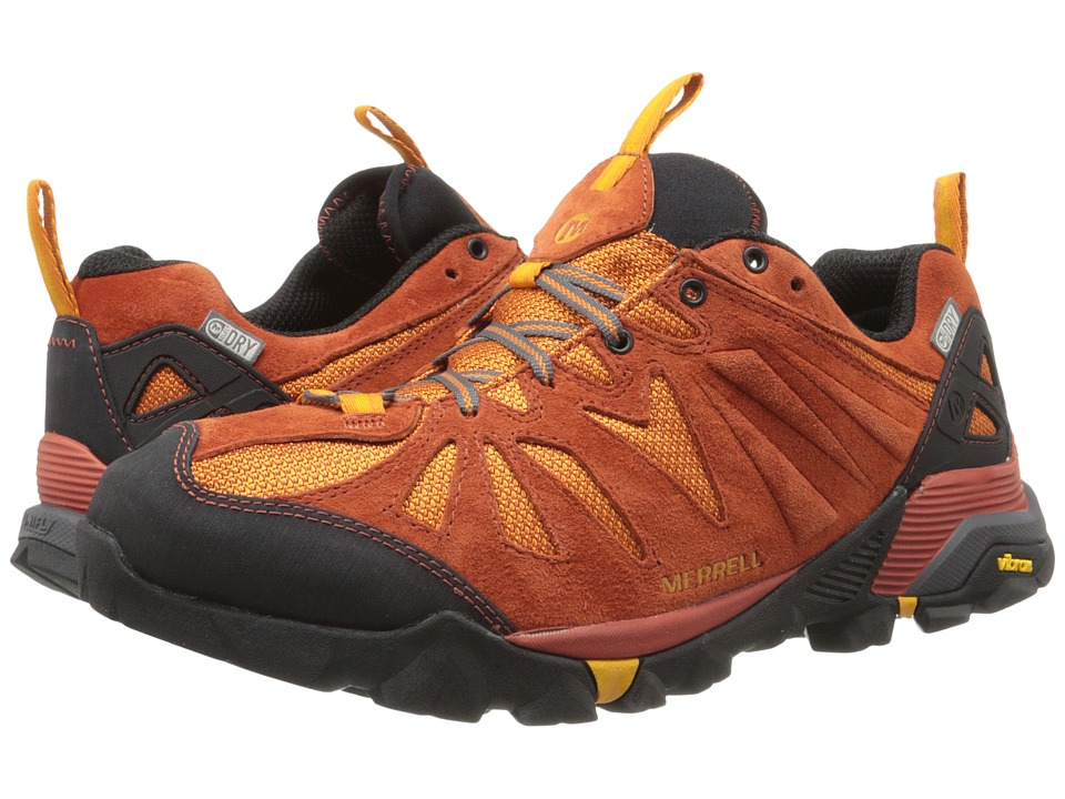 Merrell - Capra Waterproof (Dark Rust) Men