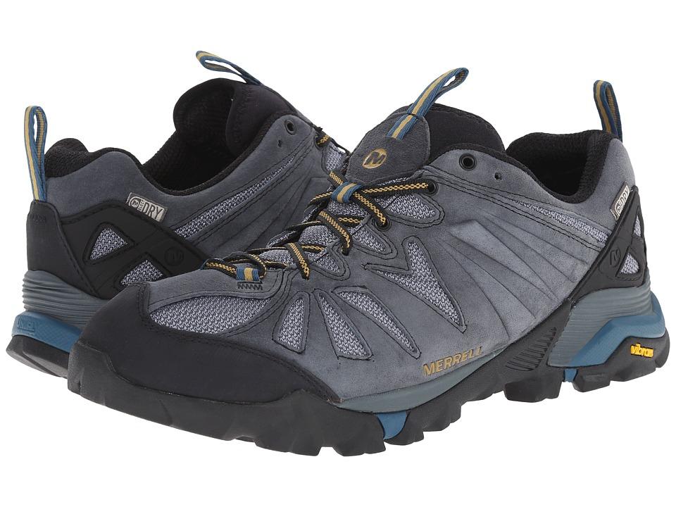 Merrell - Capra Waterproof (Turbulence) Men's Climbing Shoes