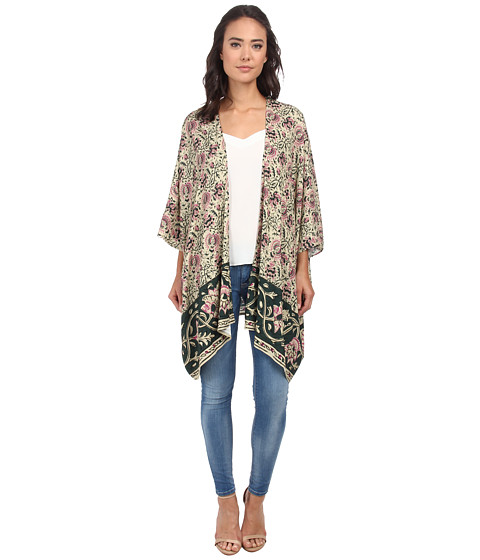 Chaser - Oversized Kimono Top (Tapestry) Women's Clothing