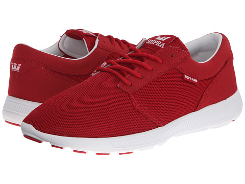 Supra - Hammer Run (Cardinal Mesh/Microfiber) Men's Skate Shoes