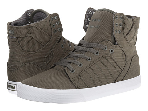 Supra - Skytop (Dusty Olive/Ballistic Canvas) Men
