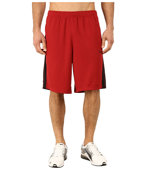 PUMA - Formstripe 10 Short (Rio Red/Black) Men's Shorts