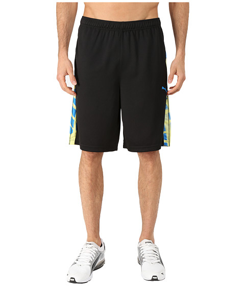 PUMA - Formstripe 10 Short (Black/Cloisonne/Print) Men's Shorts