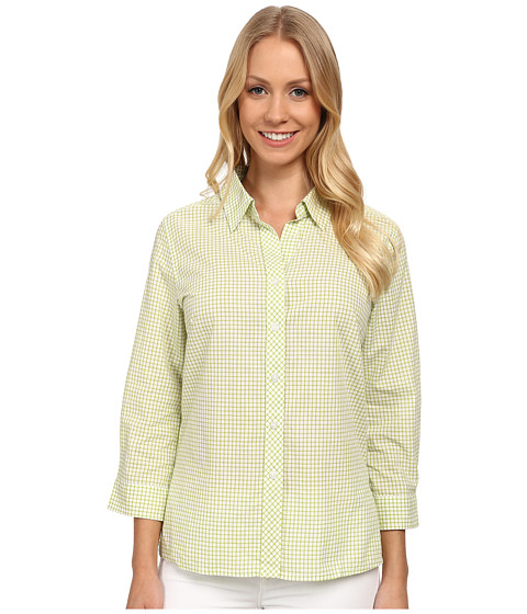 Pendleton - Sophie Shirt (Lemongrass/White Tattersall) Women's Long Sleeve Button Up