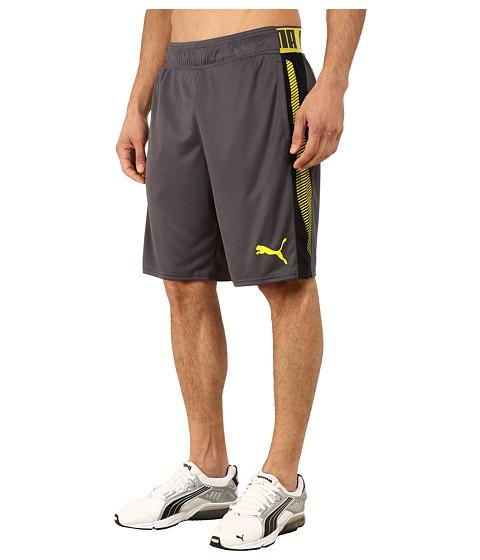 PUMA - Tilted Formstripe Shorts (Periscope/Sulphur Spring) Men