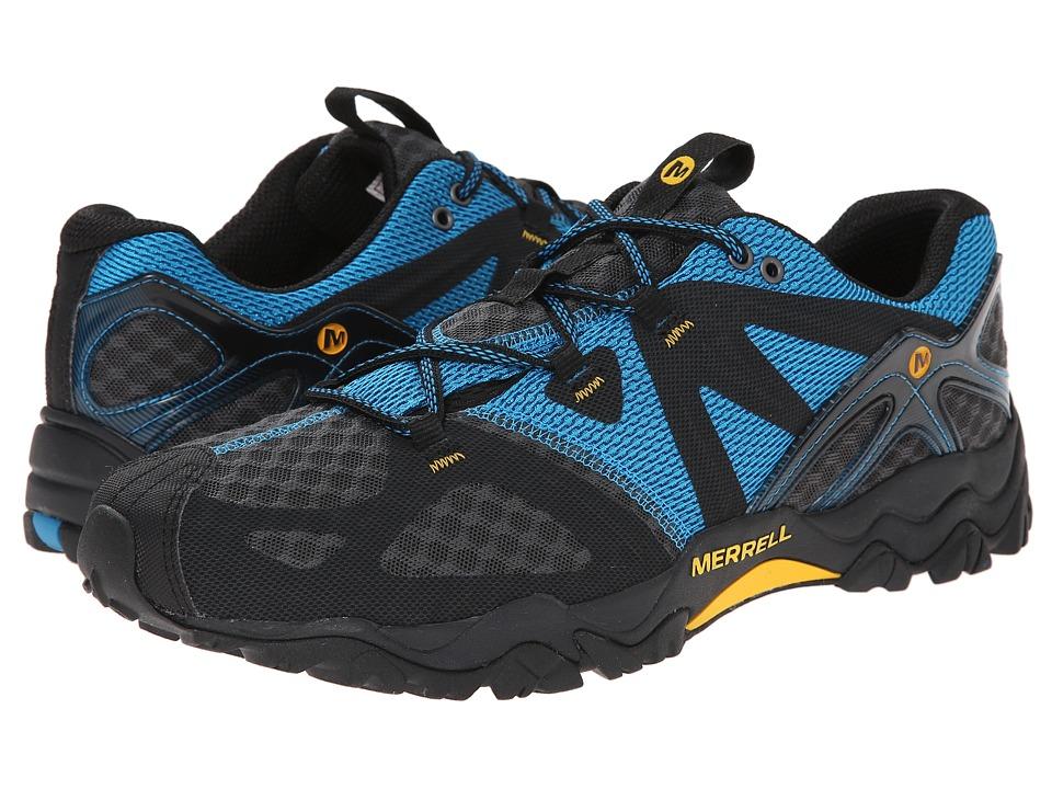 Merrell - Grassbow Air (Racer Blue) Men's Shoes